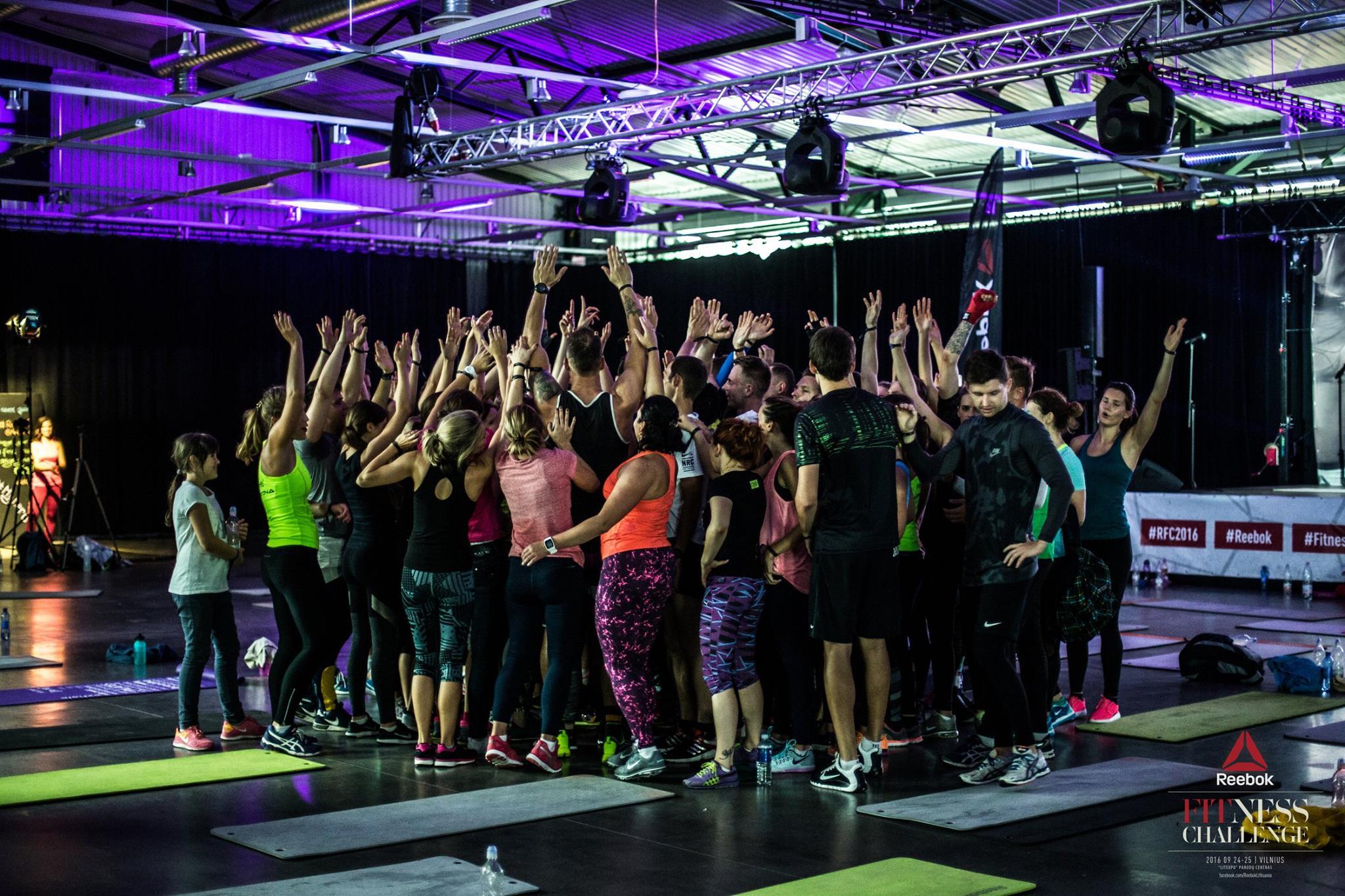 Reebok Fitness Challenge Vilnius iš arti