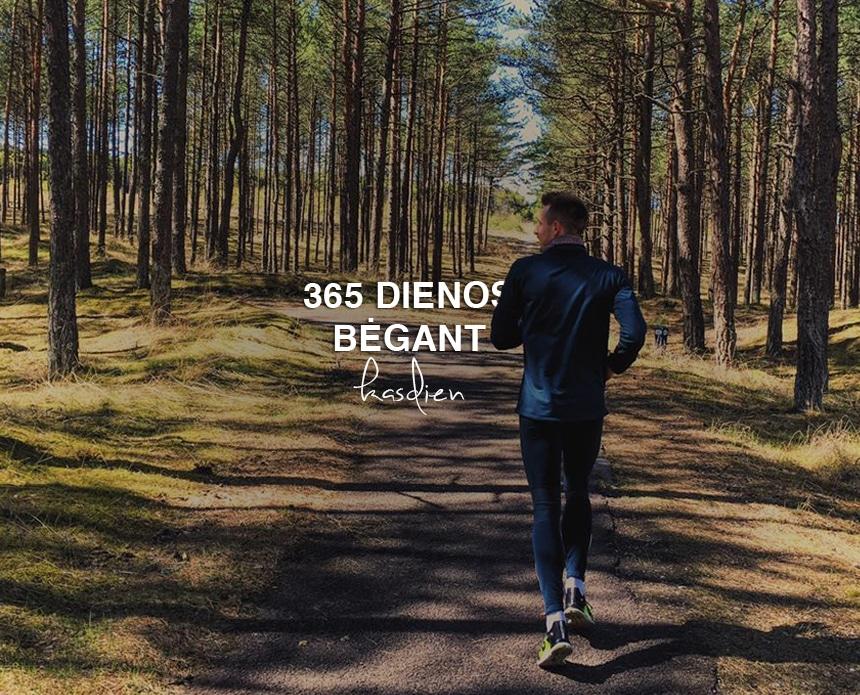 iššūkis, 365 dienos, bėgimas